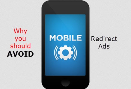 mobile redirect ads review