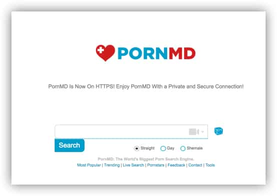 pornmd porn search engine