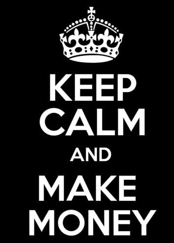 keep calm and make money camgirl
