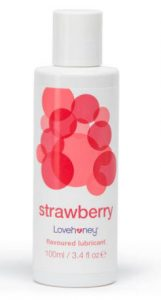Strawberry Flavoured Lovehoney Anal Lubricant