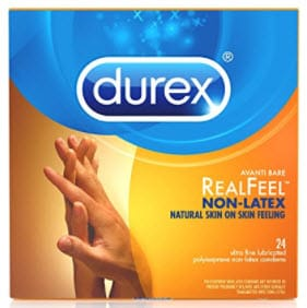 Durex Real Feel Non Latex Condoms