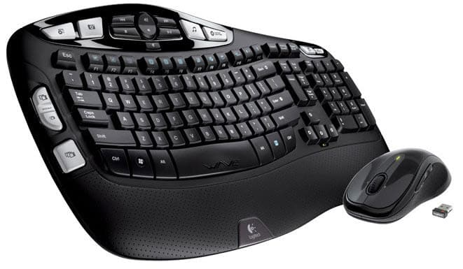 Logitech MK550 Wireless Wave Keyboard and Mouse Combo-min