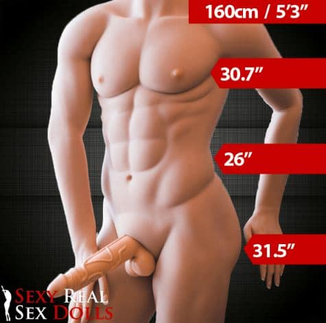 160cm Real Life Male Sex Doll