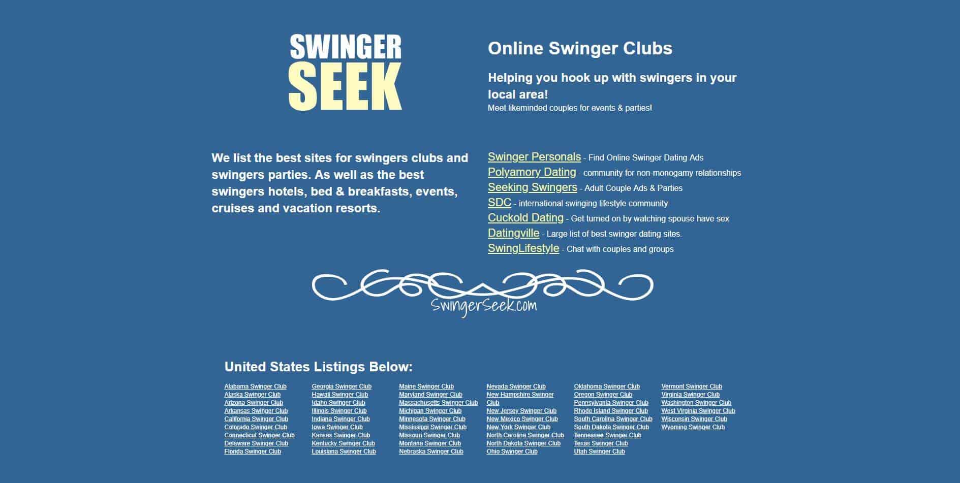 swinger seek