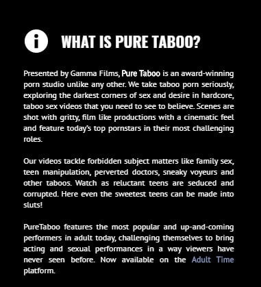what is pure taboo