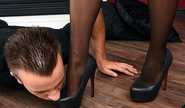 Let Your Partner Worship Your Shoes